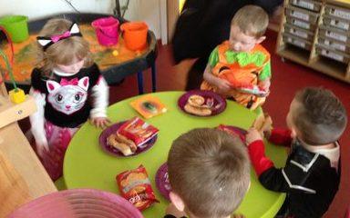 Halloween Fun in Nursery
