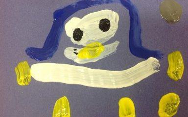 A blue penguin?