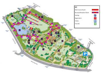 intu Metrocentre Great Gateshead Fun Run Map