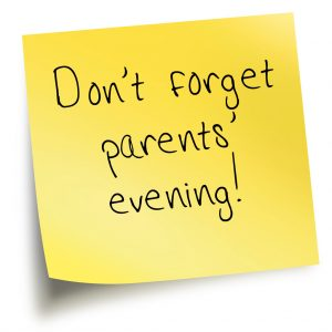 Reception Parents' Evening